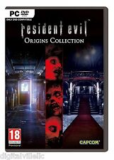 Resident Evil Origins Collection PC Brand New Factory Sealed