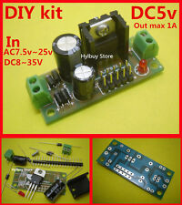 DIY kit DC/AC 12V~24v to 5V DC L7805 LM7805 Voltage Converter Regulator Module