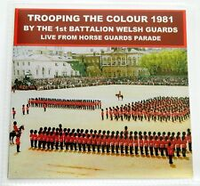 LIVE TROOPING THE COLOUR 1981 CD 1ST BN WELSH GUARDS