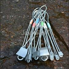 10pcs Mountaineering Rock Nut Climbing Lead Trad Protection Cams Anchor Gear