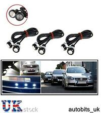 6X CAR BIKE VAN 18MM LED EAGLE EYE DAYTIME RUNNING DRL BACKUP WHITE LIGHT LAMP