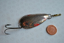 A SCARCE VERY EARLY SCALE PATTERN VINTAGE VICTORIAN NORWICH SPOON LURE
