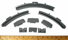 9pc TYCO TCR Slot less Car Total Control Race HIGH BANK TRACK CLIPS & BILLBOARDS