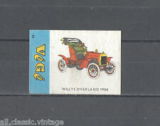 VG-43/CARS/Willys Overland 1906 Matchbox Labels/Lucifer-Etiketten