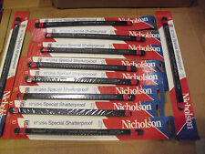 """TWO HUNDRED !! Nicholson 10"""" x 24 Tooth Hacksaw Blades # 63173 Made In USA"""