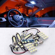 White 20 Lights SMD LED kit Interior Error Free FIT 02-08 Audi A4 S4 B6 B7 Avant