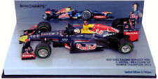 Minichamps Red Bull RB8 Brazilian GP 2012 - S Vettel 2012 World Champion 1/43