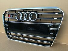 AUDI A5 S5 2012-2016 BUMPER GRILL FRONT GRILL S STYLE CHROME