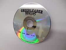Cheerleader Ninjas DVD Movie Angela Brubaker Kira Reed NO CASE
