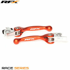 RFX NEW 2016 - 2017 KTM FLEXIBLE LEVERS KTM SXF250 SXF350 SXF450 ORANGE 50600