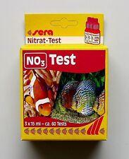 Sera Nitrat Test  NO3  für Süß- und Meerwasser Wassertest