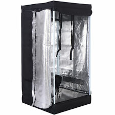 "Small Indoor Grow Tent 24x24x48"" garden Reflective Hydroponic Room Non Toxic"