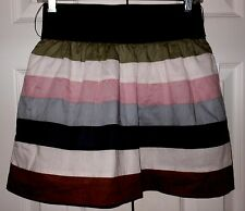 NEW  Charlotte Russe SZ SMALL STRIPED TIERED  Skirt NEW WITH TAGS!