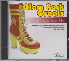 GLAM ROCK GREATS - VARIOUS ARTISTS  - CD - NEW -