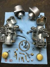Honda Cb450 Cl450 1968-1972 Carburetor Set Keihin 723a Vapor Blasted