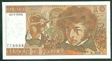 FRANCE 10 FRANCS BERLIOZ du 2 / 3 / 1978 ETAT:  NEUF-   # X 302 778088