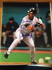 Don Mattingly, 8 x 10 Autographed photo and fully authenticated by Steiner Sport
