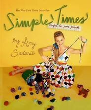 Simple Times by Amy Sedaris Paperback Book