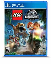 LEGO JURASSIC WORLD PS4 NEW! DINOSAUR FUN ACTION! FAMILY GAME PARTY NIGHT!