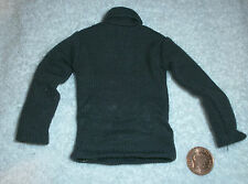 Dragon German black polo neck jumper 1/6th scale toy accessory