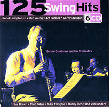 "125 SWING HITS""Jazz & Blues"" 78rpm tempo cofanetto con 6 CD & FlexMedia 2006"