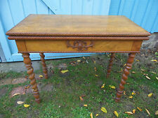TABLE A JEUX  LOUIS PHILIPPE table console, GAME TABLE  19TH C