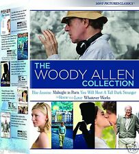 The Woody Allen Collection 2014 Edition NEW 5 MOVIE DVD SET (Blue Jasmine ++++)