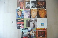 JOHNNY HALLIDAY Nr 2-LOTTO Nr 15 dischi 45 giri France PRESS