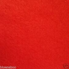 Wool Felt sold per Metre 30%wool 70% viscose 92cm wide red white black blue....