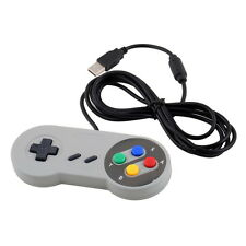 Super Control USB Gamepad Joypad for Nintendo Windows Mac SF SNES PC White BY