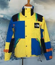 The North Face Ski Snowboard Colorblock Yellow Blue Black Orange Green Jacket  M