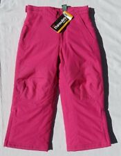 NEW NWD LL BEAN Pink Ski Snow Thinsulate Insulation Snowsuit Pants size Girl's