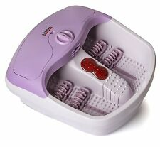 Foot spa bath massager with heat HF vibration, infrared, bubbles +callus Kit set