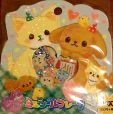 Kawaii CruX Heartful Puppy Sticker Flakes Sack 52 Stickers