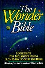 THE WONDER BIBLE Highlights For Inquisitive Minds   FREE SHIPPING