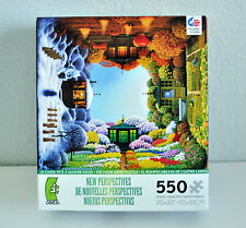 "Ceaco New Perspectives NIB Four Sided Four Seasons Puzzle 550 Pieces 20"" x 20"""