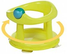 Girls Boys Safety Swivel Bath Seat Chair Infant Baby Bathing Support Lime Green