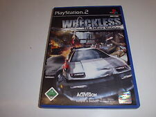 PlayStation 2 ps2 Wreckless-The Yakuza misiones