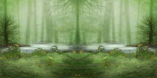 Green forest 20'x10' CP Backdrop Computer-painted Scenic Background ZJZ-324-A