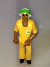 Vintage Fisher Price African American Rescue Pilot Short Sleeve Variant Figure