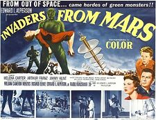 INVADERS FROM MARS (DVD, 1953 SCI-FI/HORROR) ORIGINAL - UFO LANDING