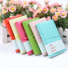 Portable Diary Notebook Cute Journal Memo Lovely Mini Smile Smiley Note Book New
