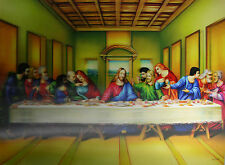 3D Lenticular Poster - LAST SUPPER - Jesus and the Disciples - 12x16 Print