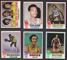 1973-74 TOPPS BASKETBALL CARD # 24 JIM FOX - NM - BUY $15+ FREE SHIP