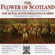 Flower Of Scotland - Royal Scots Dragoon Guards - CD NEW & SEALED Pipes Drums UK