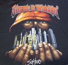 """Jay Z Men's T Shirt """"Vintage Classic"""" Streets Is Watching So Hood 6XL"""