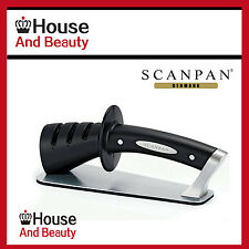 Brand New Genuine  SCANPAN Classic 3 Step Knife Sharpener RRP $59.95