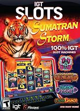 IGT Slots Sumatran Storm PC Games Windows 10 8 7 Vista XP Computer slot machine