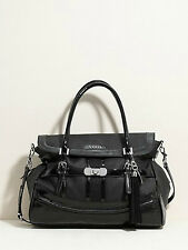 NWT Authentic GUESS Women's Bag Logo Satchel Scent City VY305006 Black