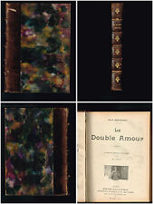 Le double amour - 5 livres dans la même reliure - 23,6 x 17,5 cm